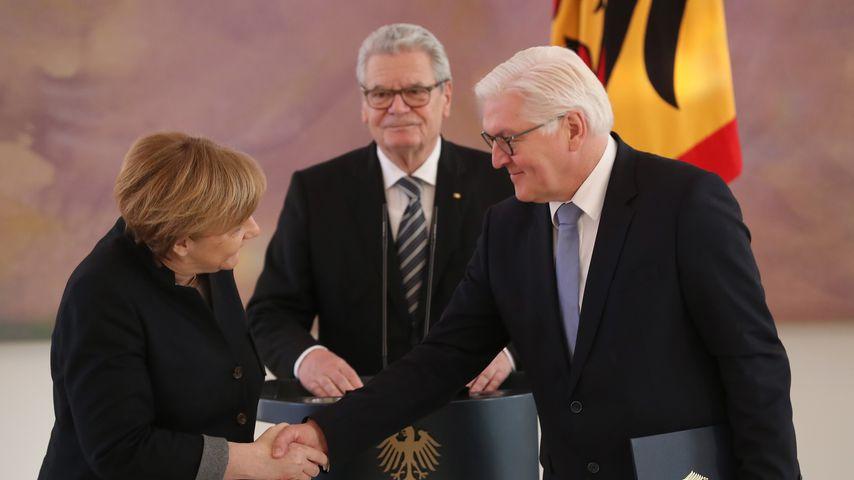 Offiziell: Frank-Walter Steinmeier ist neuer Bundespräsident