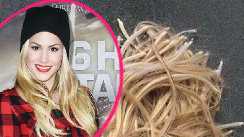 Und ab! Angelina Heger trägt ihr Haar wieder kurz