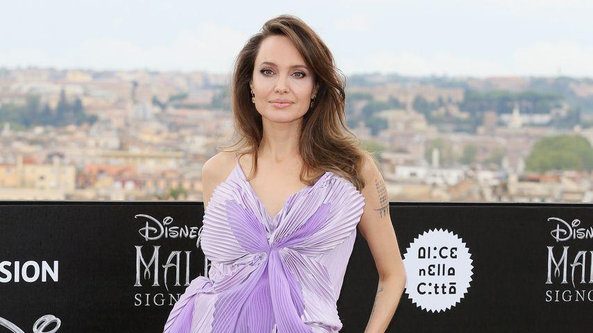 Angelina Jolie in Rom, Oktober 2019