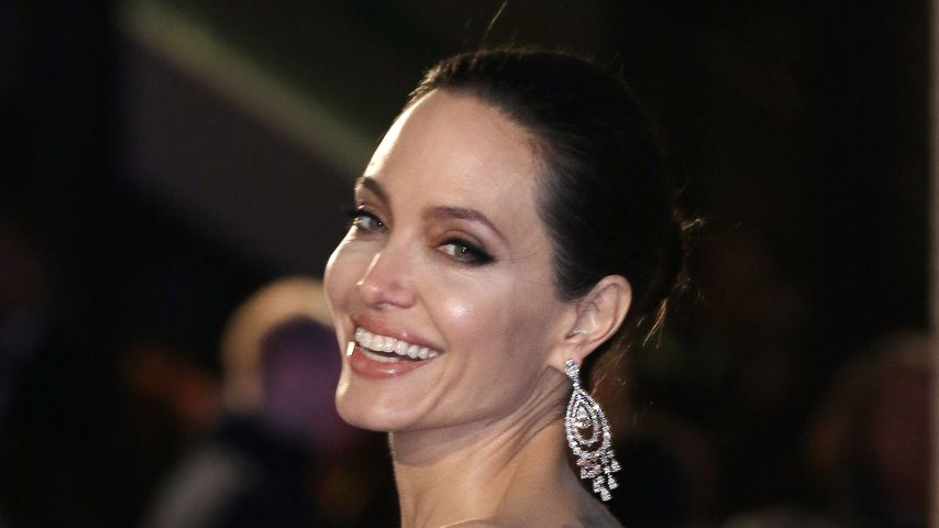 Angelina Jolie während der BAFTA-Awards 2018 in London