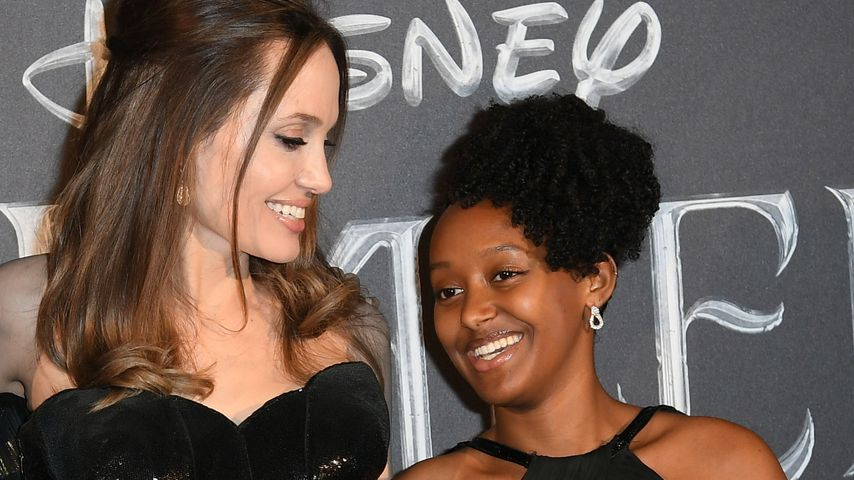 """""""Außergewöhnlich"""": Angelina Jolie schwärmt von Zahara (15)"""