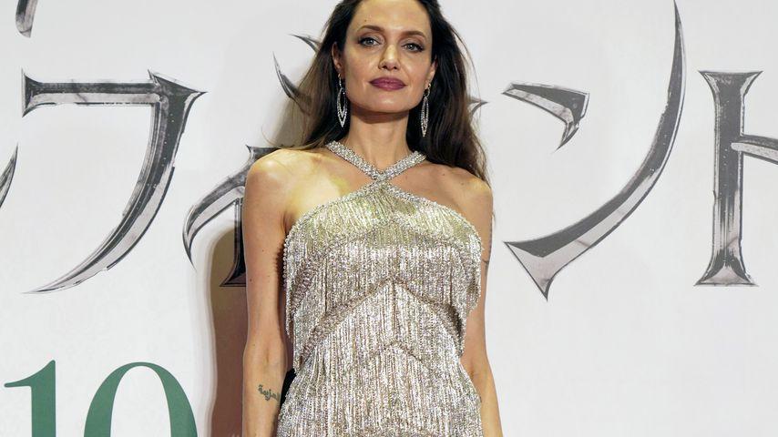 """Angelina Jolie bei der """"Maleficent 2""""-Premiere in Tokio im Oktober 2019"""