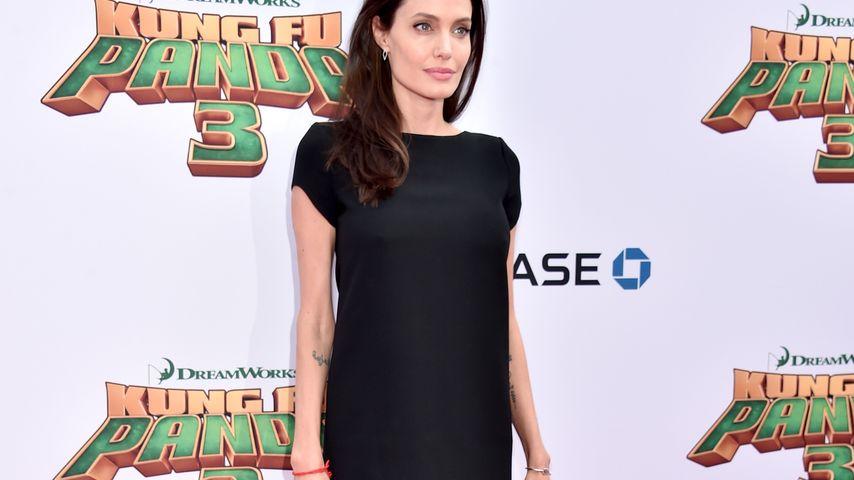 Knochig & blass: Angelina Jolie schockt mit Mager-Auftritt