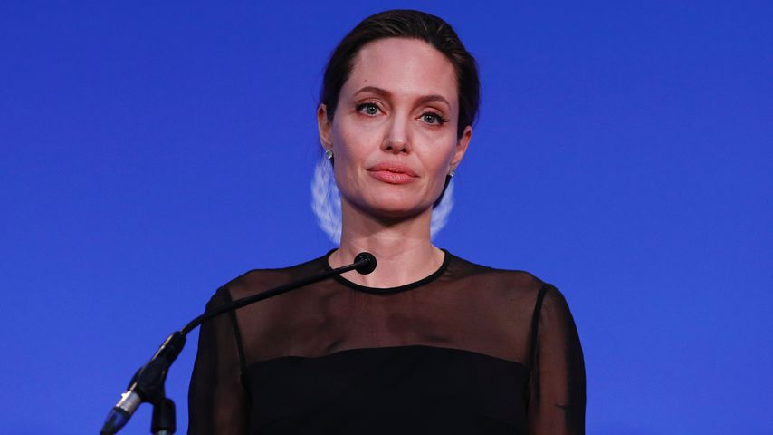 Angelina Jolie bei der UN in London