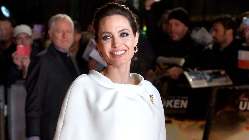 So schön! Angelina Jolie strahlt im Vintage-Style