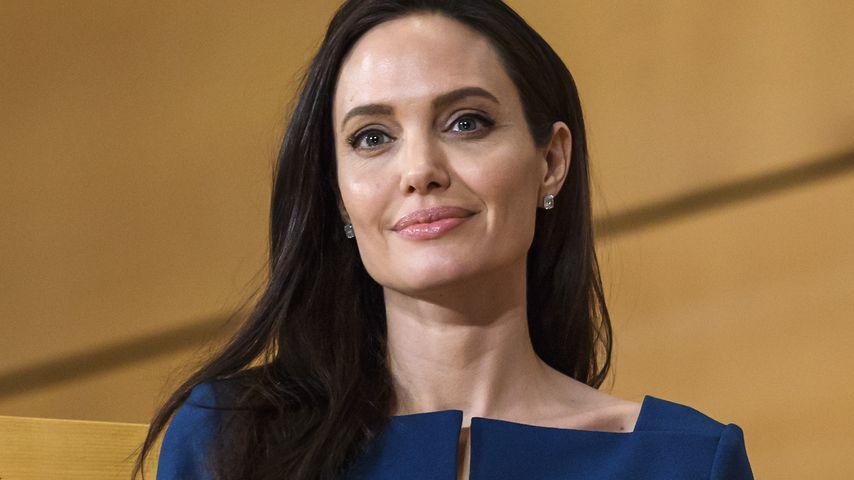 Angelina Jolie bei einer Sitzung mit den United Nations