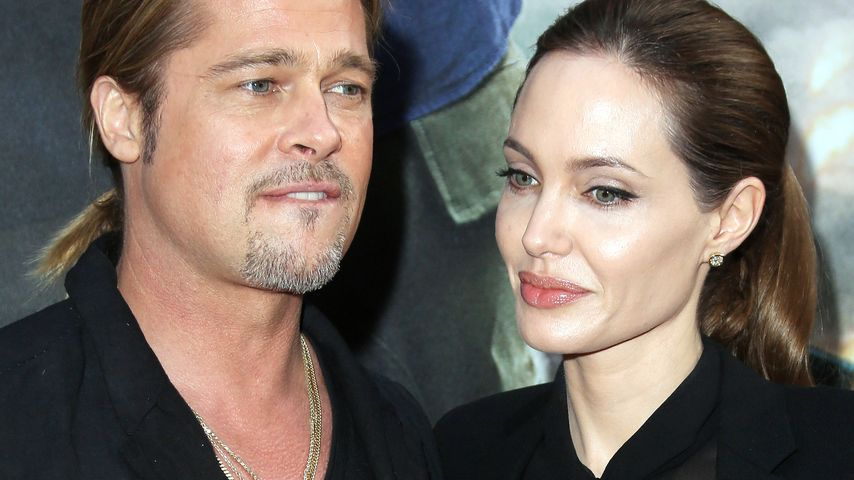 Partnerlook Brad Und Angelina Mit Gleicher Frisur Promiflash De