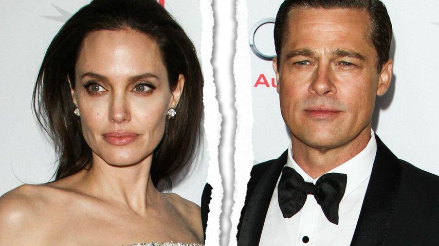 Angelina Jolie & Brad Pitt: Alle Details zur Scheidung!