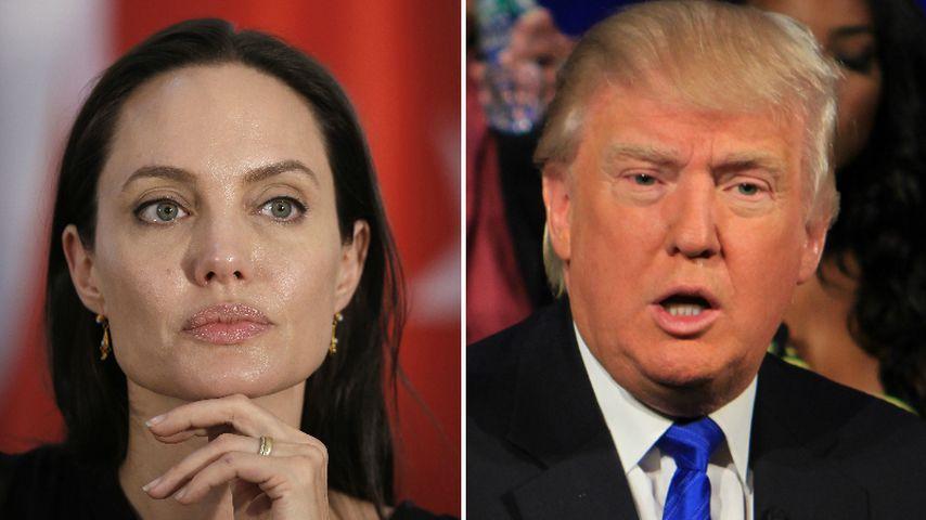 Anti-Trump: Angelina Jolie kritisiert Flüchtlingspolitik!
