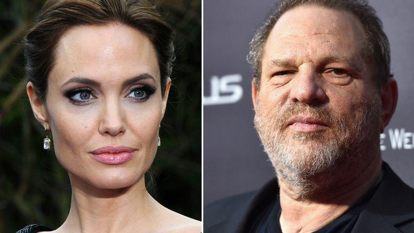 Angelina Jolie: Hat Harvey Weinstein auch sie belästigt?