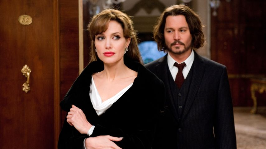 "Angelina Jolie und Johnny Depp im Film ""The Tourist"" (2010)"