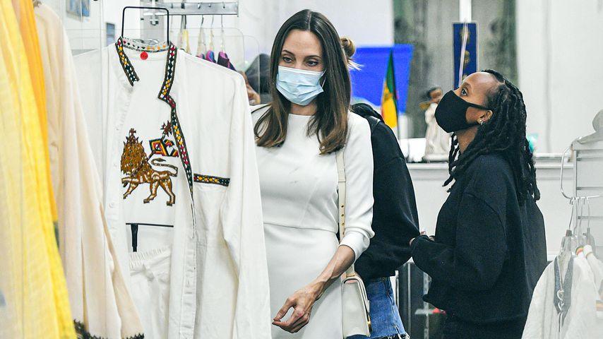 Am Geburtstag: Angelina Jolie macht mit Tochter Shoppingtrip
