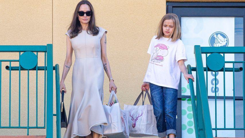 Angelina Jolie und Vivienne genießen Mutter-Tochter-Ausflug