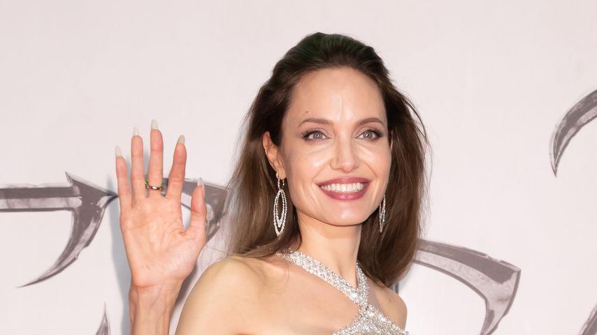 """Angelina Jolie bei der """"Maleficent:Mistress of Evil""""-Premiere in Tokio, 2019"""