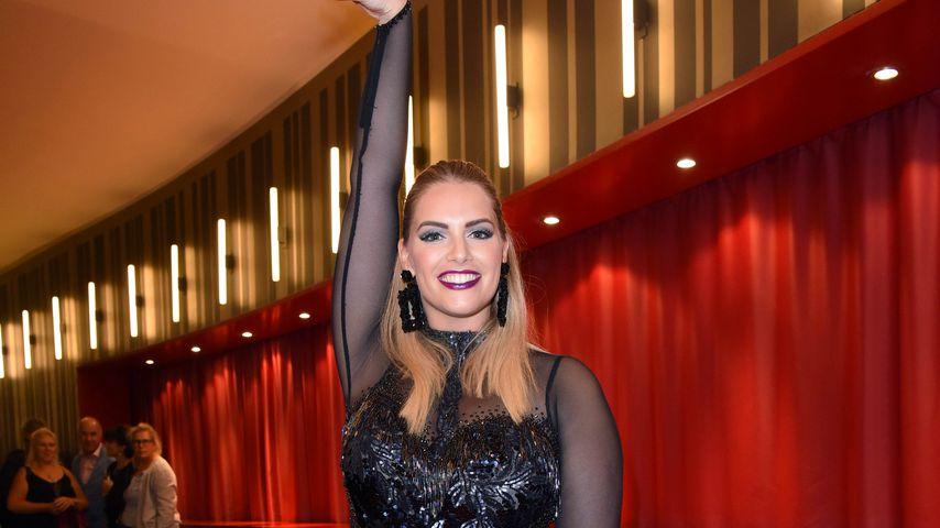 Erster Auftritt nach Trennung: So geht's Angelina Kirsch