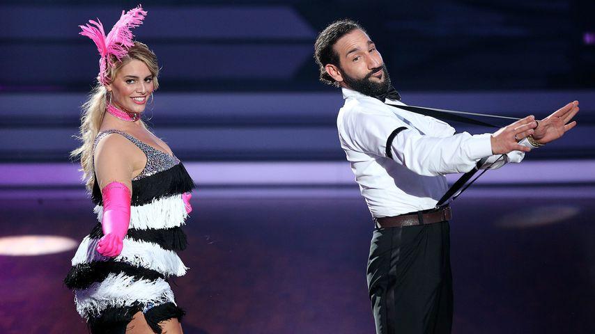"""Angelina Kirsch und Massimo Sinató bei """"Let's Dance"""""""