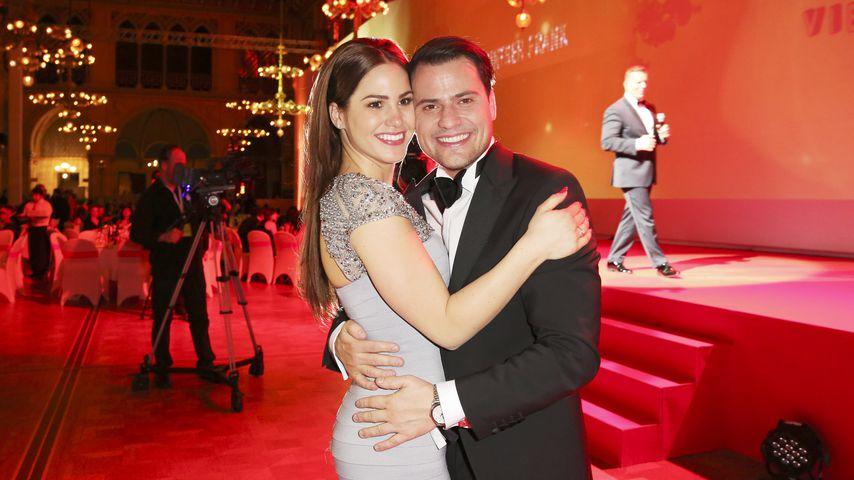 Angelina Pannek und Rocco Stark auf dem Wiener Opernball 2016