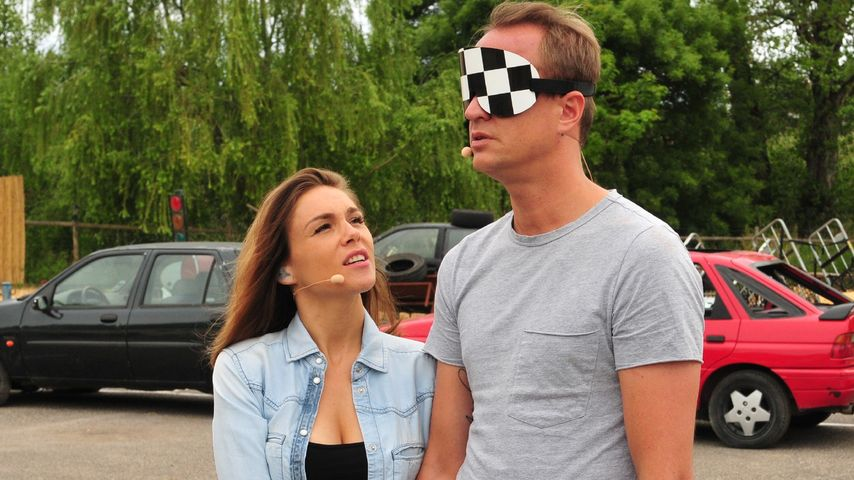 """Angelina und Alexander Posth in der 2. Folge von """"Das Sommerhaus der Stars"""""""