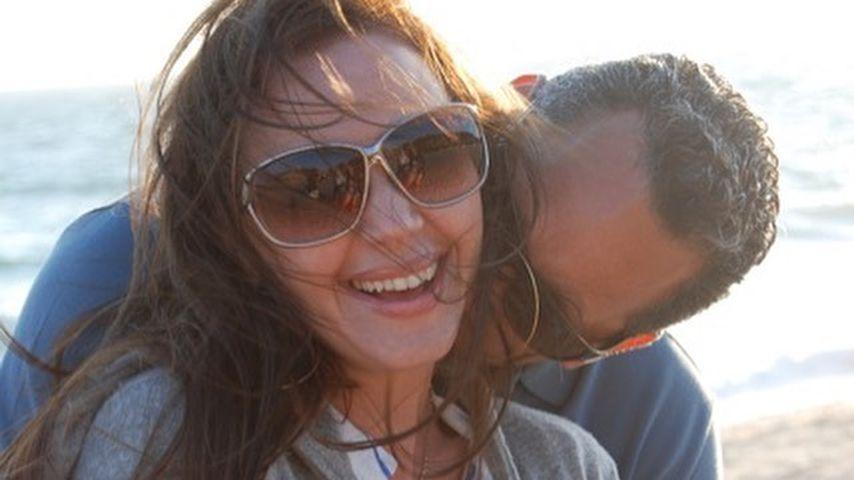 Angelo Pagan und Leah Remini