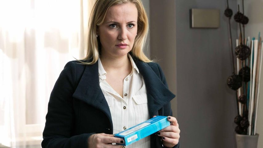 """Ania Niedieck in der Rolle der Isabelle Reichenbach bei """"Alles was zählt"""""""