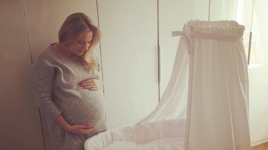 Ania Niedieck mit Babybauch