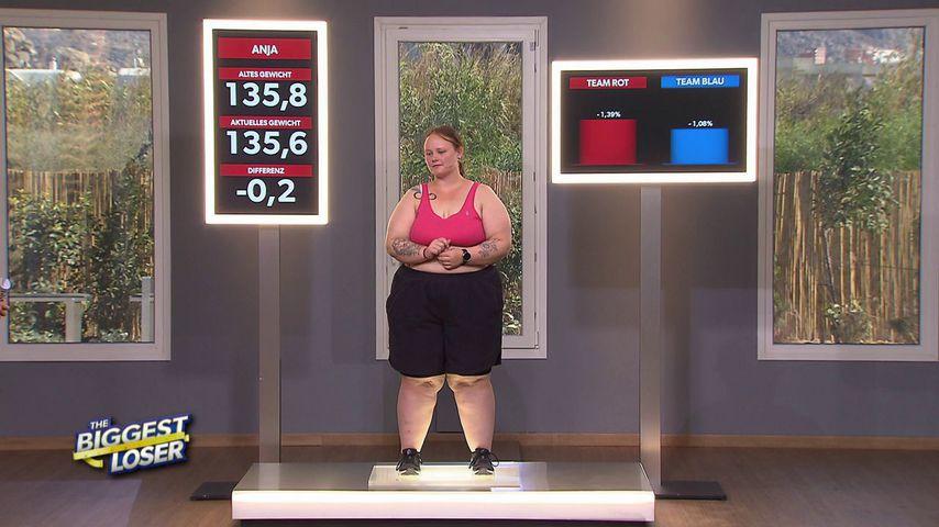 """Anja in der vierten Folge von """"The Biggest Loser"""""""