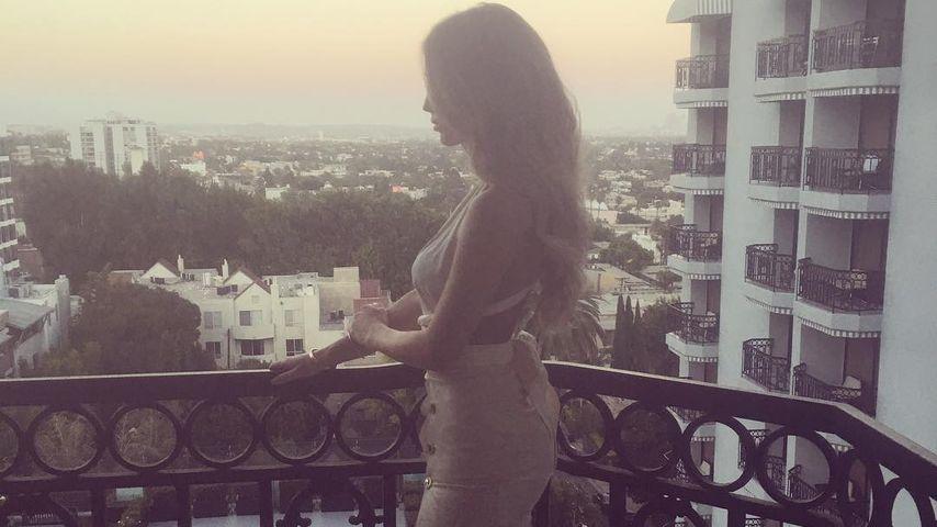 Ann-Kathrin Brömmel im L.A.-Urlaub