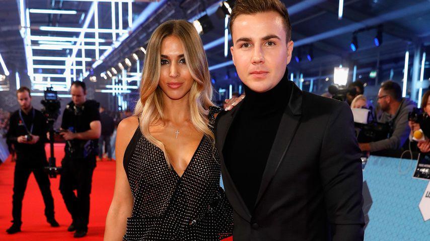 Ann-Kathrin und Mario Götze bei den MTV EMAs 2016