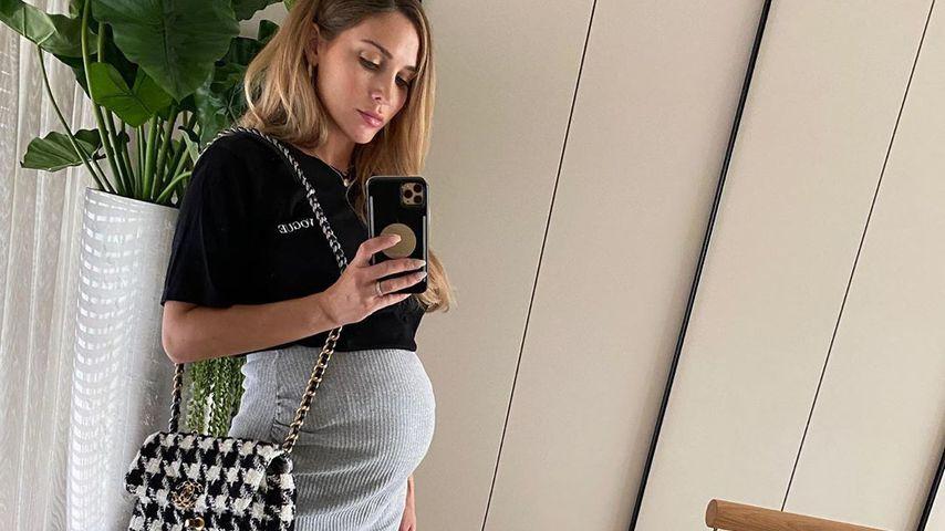 Neunter Monat: Ann-Kathrin Götze gibt Schwanger-Update