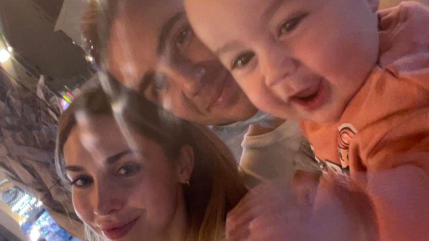Familie Götze im März 2021