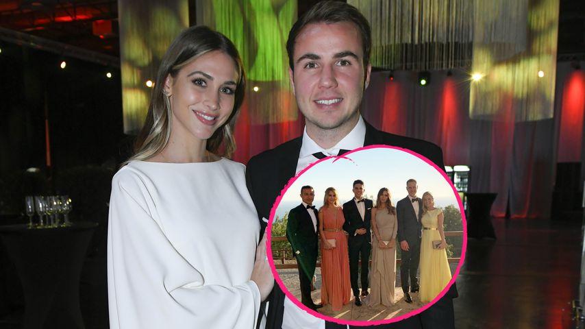 Hochzeitsvideo zeigt: Diese Promis waren bei Götze-Hochzeit!