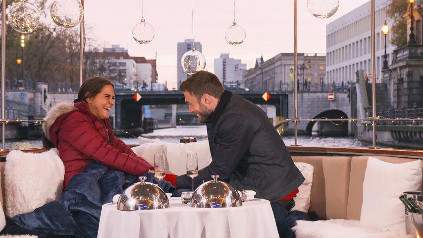 """Anna Corcelli und Niko Griesert bei """"Der Bachelor"""""""