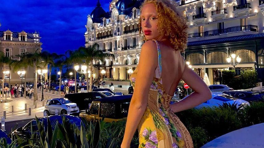 Anna Ermakova in Monaco