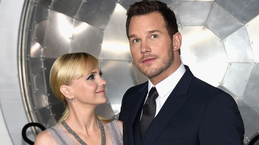 """Anna Faris und Chris Pratt bei der Premiere von """"Passengers"""" in Westwood 2016"""