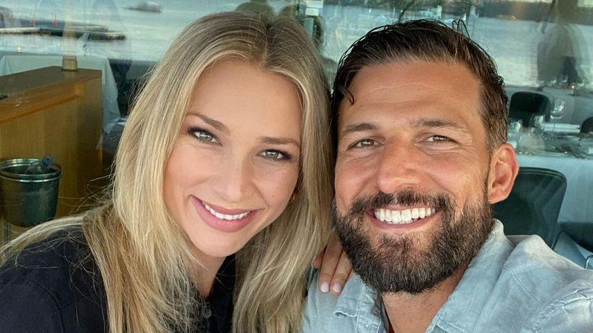 Anna Heinrich und Tim Robards, Oktober 2020