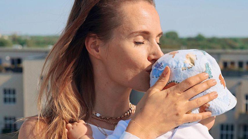Anna Hofbauer mit ihrem Sohn Leo