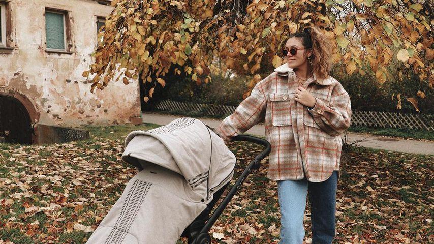 Influencerin Anna Maria Damm im Oktober 2020