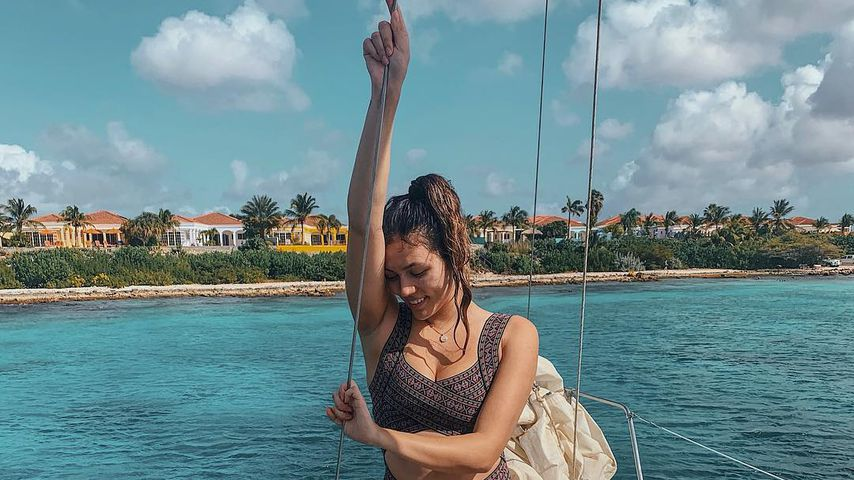 Anna Maria Damm im Karibik-Urlaub, 2019