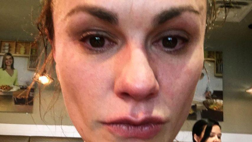 In Tränen aufgelöst: Anna Paquin am Flughafen angeschrien