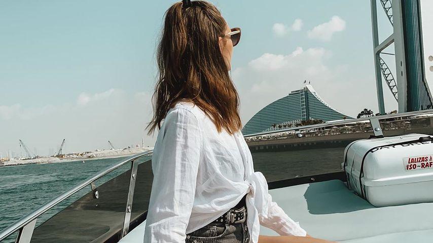 Anna Wilken im Dubai-Urlaub