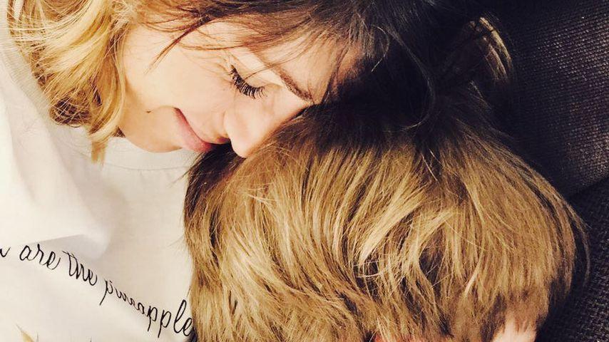 Anna Wolfers mit ihrem Sohn Emil