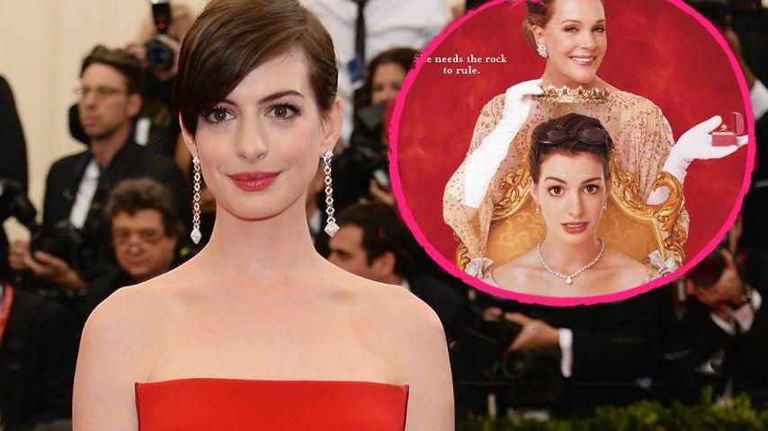 """Royaler Plan: Anne Hathaway will """"Plötzlich Prinzessin 3"""""""