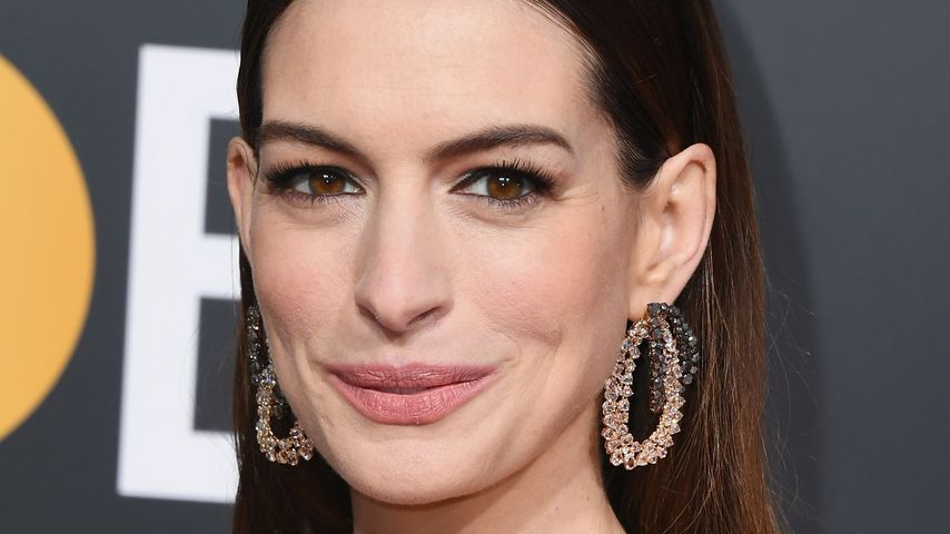 Anne Hathaway bei den Golden Globe Awards im Januar 2019