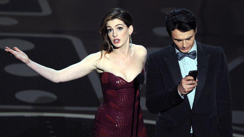 Anne Hathaway und James Franco bei den Oscars 2011