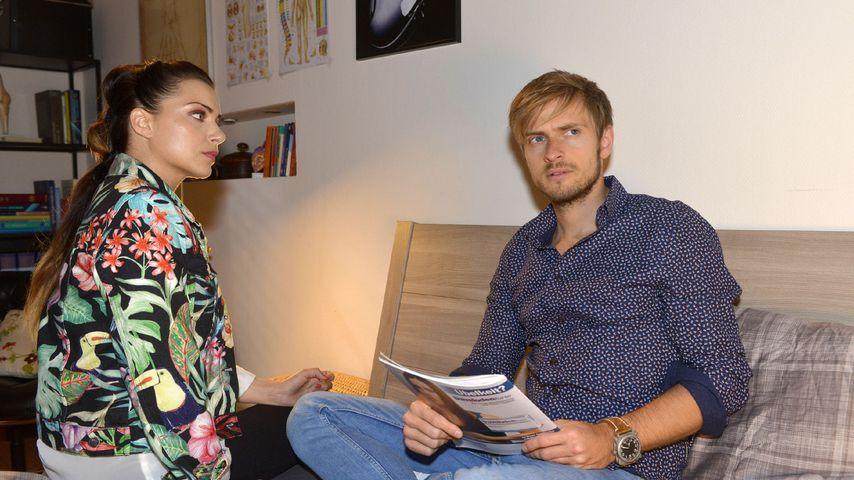 Anne Menden und Jörn Schlönvoigt bei GZSZ