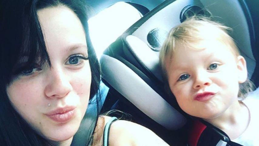 Anne Wünsche mit Tochter Miley