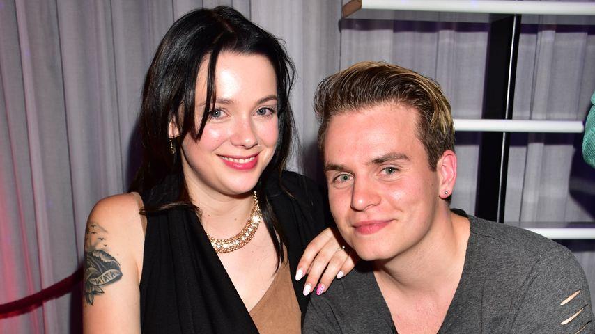 Anne Wünsche und Henning Merten bei Madame Tussauds Berlin