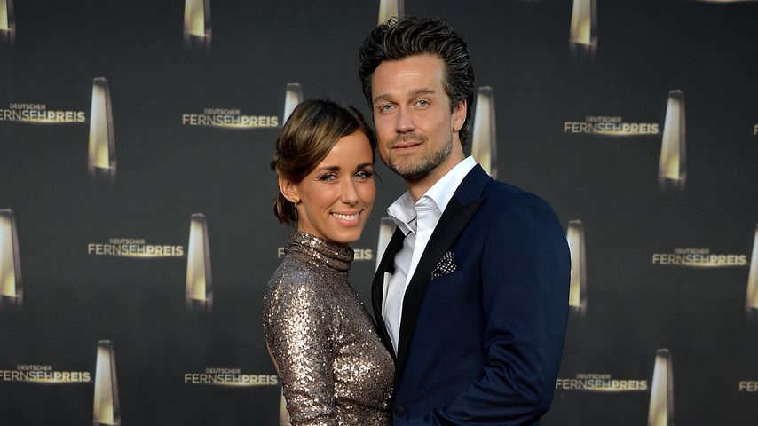 Annemarie und Wayne Carpendale beim Deutschen Fernsehpreis 2014 in Köln