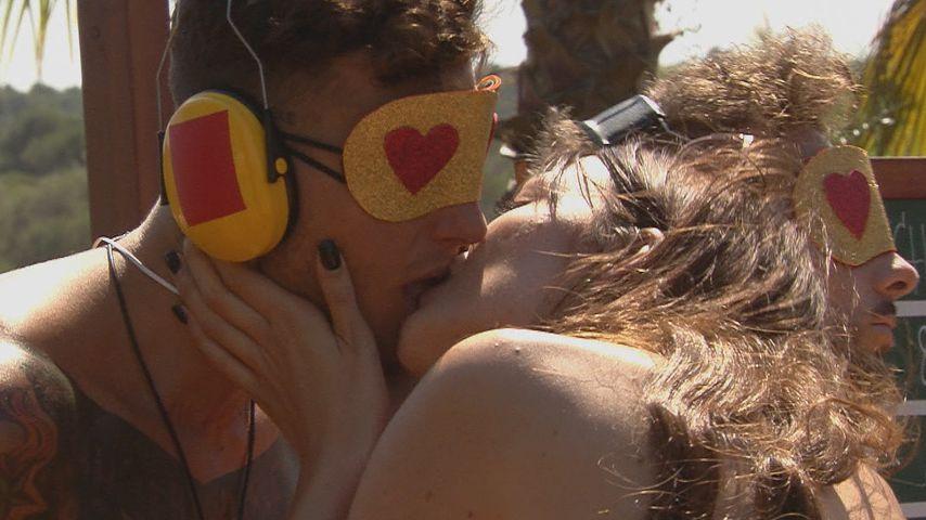 """Jan Sokolowsky und Annika Zschuppe bei """"Love Island"""""""