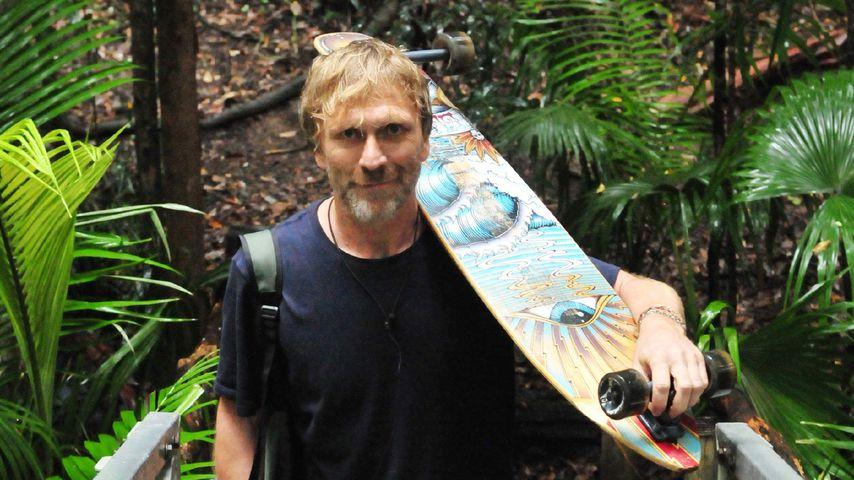 Ansgar Brinkmann beim Verlassen des Dschungelcamps